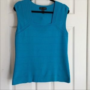 Cable and gauge Knit Top Size L EUC